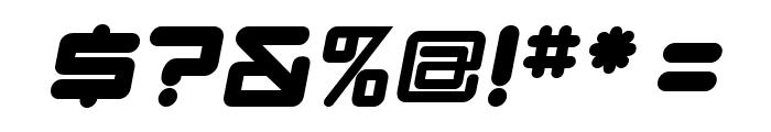 DBXLNightfever ExtraWideItalic Font OTHER CHARS