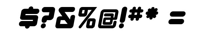 DBXLNightfever WideItalic Font OTHER CHARS