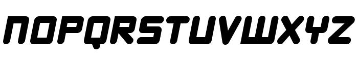 DBXLNightfever WideItalic Font UPPERCASE
