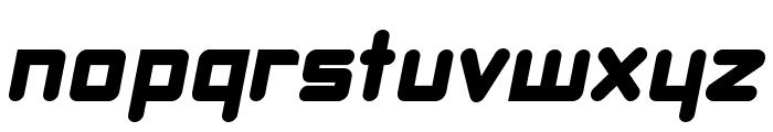 DBXLNightfever WideItalic Font LOWERCASE