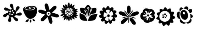 DB Floragraphy Font UPPERCASE