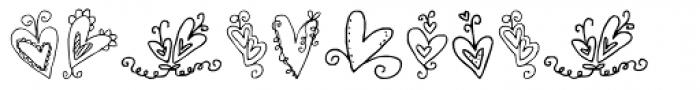 DB Spring Fling Font OTHER CHARS