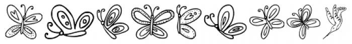 DB Spring Fling Font UPPERCASE