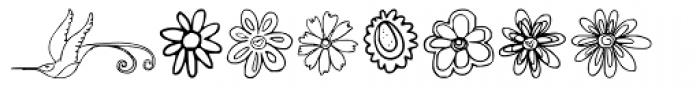 DB Spring Fling Font LOWERCASE
