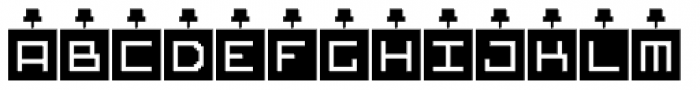 DBB Tack Note Font LOWERCASE