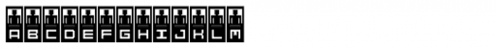 DBB Teller Font LOWERCASE