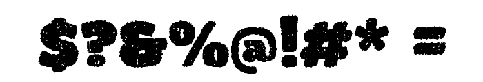 DCC - Bushido Font OTHER CHARS