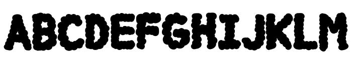 DCC-Cloud Font LOWERCASE
