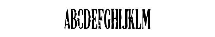 DCC-Manifest Font UPPERCASE