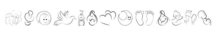 DCOXY stamp Font UPPERCASE