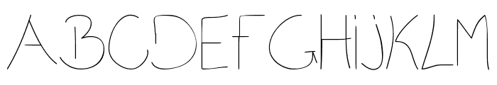 DCY Oncom Font UPPERCASE