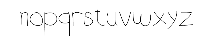 DCY Oncom Font LOWERCASE
