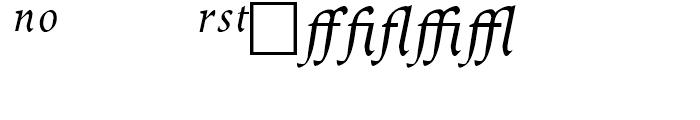 Dcennie JY Expert Italic Font UPPERCASE