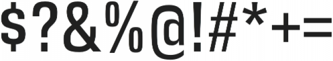 DDT Condensed otf (400) Font OTHER CHARS