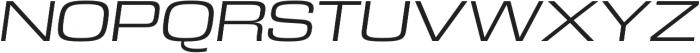 DDT Extended Book Italic otf (400) Font UPPERCASE