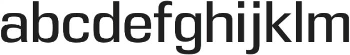 DDT Regular otf (400) Font LOWERCASE