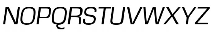 DDT Book Italic Font UPPERCASE