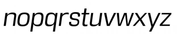 DDT Book Italic Font LOWERCASE