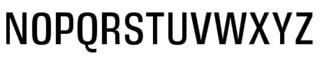 DDT Condensed Regular Font UPPERCASE