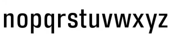 DDT Condensed Regular Font LOWERCASE