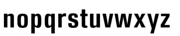 DDT Condensed Semi Bold Font LOWERCASE