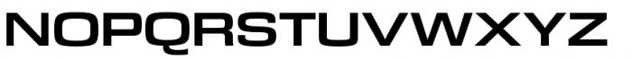 DDT Ext Bold Font UPPERCASE