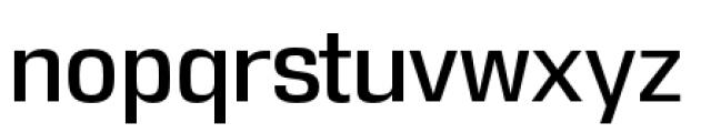 DDT Regular Font LOWERCASE