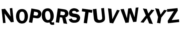 dDAFTt-UPPERcase Font UPPERCASE