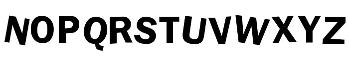 dDAFTt-UPPERcase Font LOWERCASE