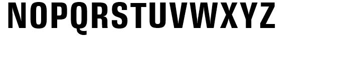 DDT Condensed Bold Font UPPERCASE