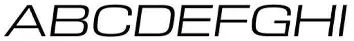 DDT Ext Book Italic Font UPPERCASE