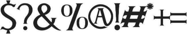 DELOVA otf (400) Font OTHER CHARS