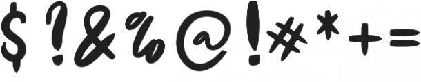 De Luxious otf (400) Font OTHER CHARS