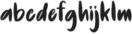 De Luxious otf (400) Font LOWERCASE