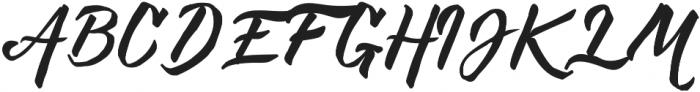 DeHangster otf (400) Font UPPERCASE