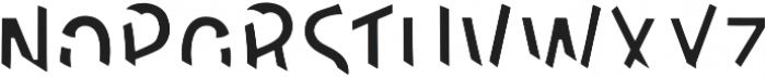 DeLittle Inlay otf (400) Font LOWERCASE