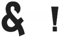 DeLittle otf (400) Font OTHER CHARS