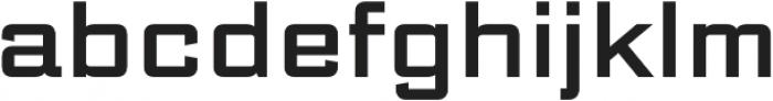 DeLuxe Gothic Regular otf (400) Font LOWERCASE