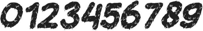 Dead Slime TWO Slanted otf (400) Font OTHER CHARS