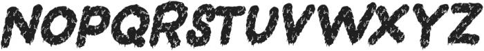 Dead Slime TWO Slanted otf (400) Font LOWERCASE