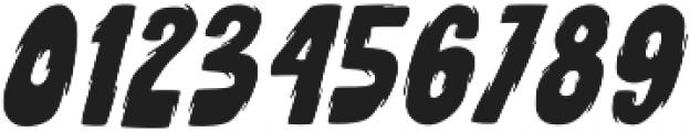 Deadclub Family Base Slanted otf (400) Font OTHER CHARS