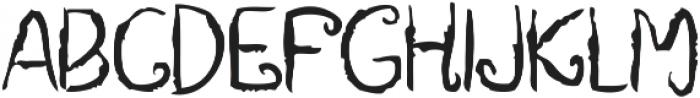Deadway otf (400) Font LOWERCASE