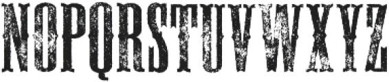 Deadwood Gravel ttf (400) Font UPPERCASE