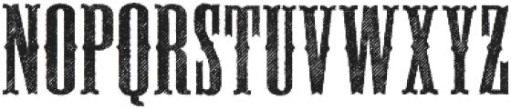 Deadwood Sawtooth ttf (400) Font UPPERCASE