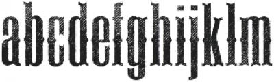 Deadwood Sawtooth ttf (400) Font LOWERCASE
