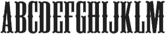 Deadwood ttf (400) Font UPPERCASE