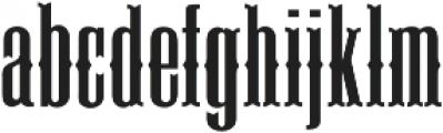 Deadwood ttf (400) Font LOWERCASE