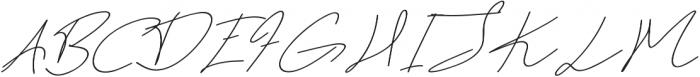 Dear Nathan otf (400) Font UPPERCASE