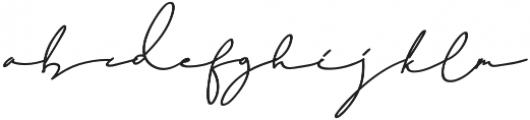 Dear Nathan otf (400) Font LOWERCASE