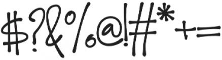 Dear Prudence otf (400) Font OTHER CHARS